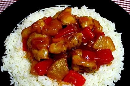 Hähnchen süß-sauer wie beim Chinesen 6