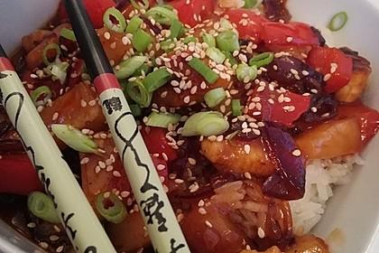 Hähnchen süß-sauer wie beim Chinesen 3