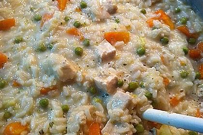Hühnereintopf mit Reis 3