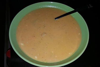 Süßkartoffel–Erdnuss-Suppe 23