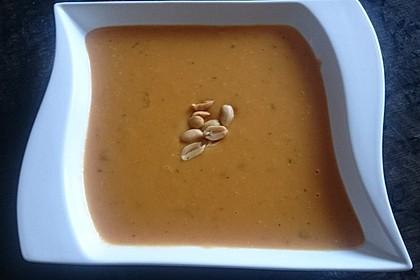 Süßkartoffel–Erdnuss-Suppe 14