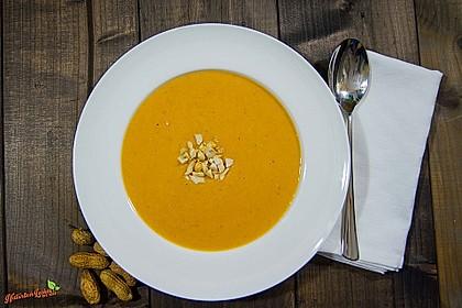 Süßkartoffel–Erdnuss-Suppe 2