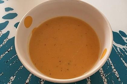 Süßkartoffel–Erdnuss-Suppe 39