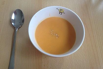 Süßkartoffel–Erdnuss-Suppe 33