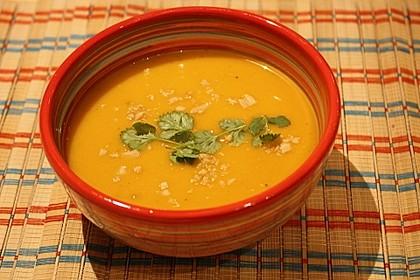 Süßkartoffel–Erdnuss-Suppe 10
