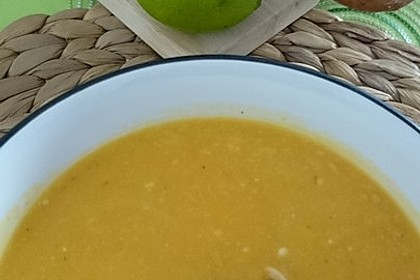 Süßkartoffel–Erdnuss-Suppe 21