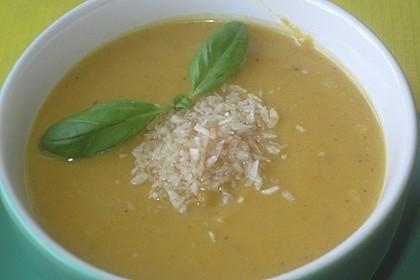 Süßkartoffel–Erdnuss-Suppe 13