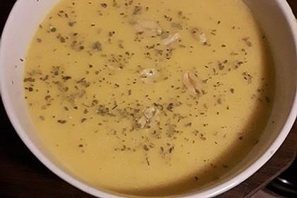 Süßkartoffel–Erdnuss-Suppe 36