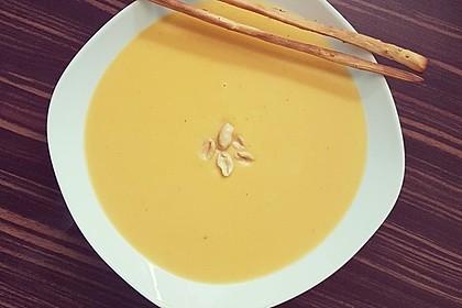 Süßkartoffel–Erdnuss-Suppe 3