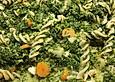 Nudeln mit Grünkohl und Feta