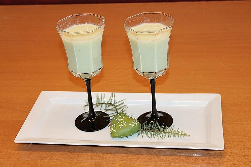 galiamelonen smoothie mit banane rezept mit bild. Black Bedroom Furniture Sets. Home Design Ideas