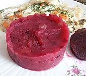 Rote Bete-Kartoffelpüree