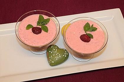 Erdbeer-Limetten-Joghurt mit bulgarischem Joghurt 1