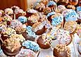 Pfirsich-Cakepops