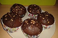 Schoko-Nougat Muffins