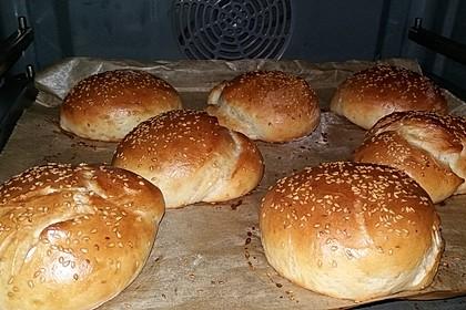 Hamburger und Hot Dog Buns 25