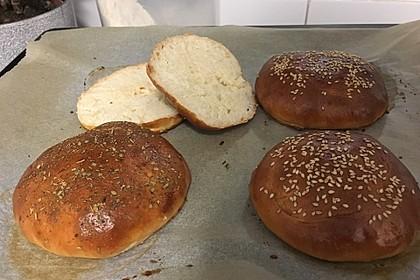 Hamburger und Hot Dog Buns 24