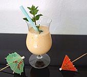 Melonen-Vanilleeis-Smoothie