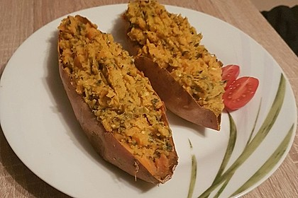 Gebackene Süßkartoffeln 14