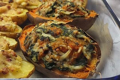 Gebackene Süßkartoffeln 4