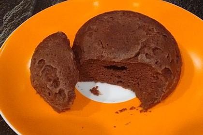 Low carb Eiweiß-Tassenkuchen aus der Mikrowelle 11