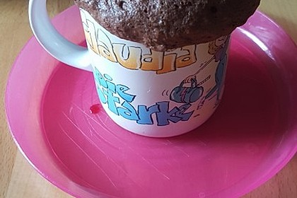 Low carb Eiweiß-Tassenkuchen aus der Mikrowelle 13