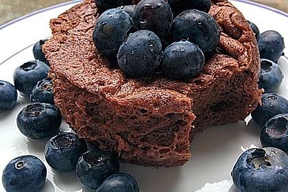 Low carb Eiweiß-Tassenkuchen aus der Mikrowelle 2