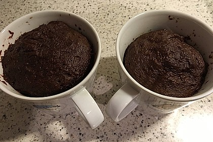 Low carb Eiweiß-Tassenkuchen aus der Mikrowelle 9