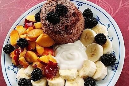 Low carb Eiweiß-Tassenkuchen aus der Mikrowelle 1