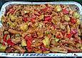 Reis-Gemüsepfanne vom Grill