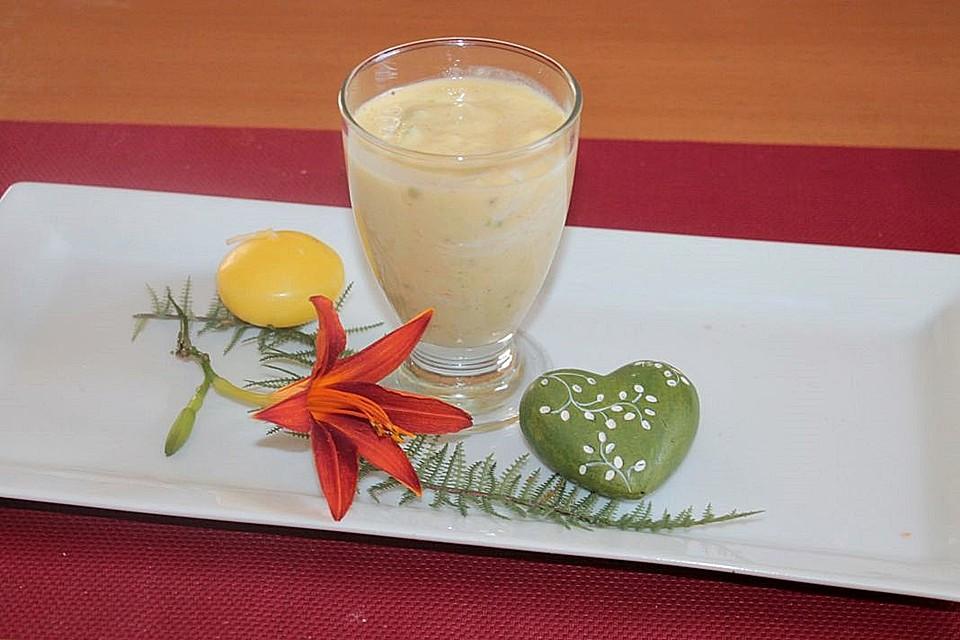mango apfel joghurt smoothie rezept mit bild von patty89. Black Bedroom Furniture Sets. Home Design Ideas