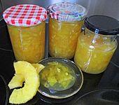 Ananas-Ingwer-Konfitüre