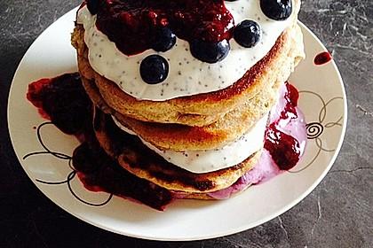 Pefekte Blueberry Pancakes selber machen 2