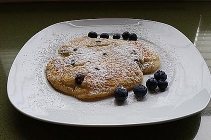 Pefekte Blueberry Pancakes selber machen 3