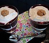 Heidelbeer Amarettini Dessert
