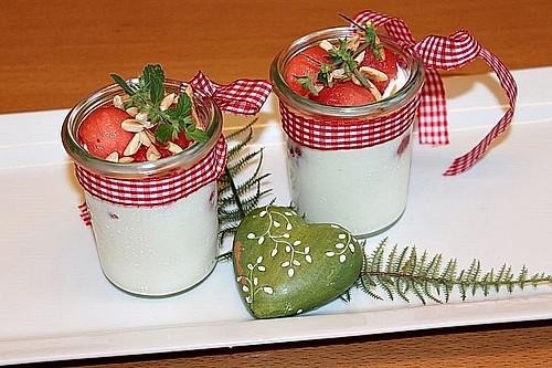 wassermelone sauerrahm dessert rezept mit bild von patty89. Black Bedroom Furniture Sets. Home Design Ideas