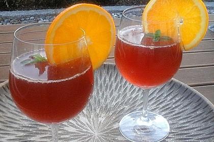 Kirsch orange erfrischungs cocktail rezept mit bild for Cocktail kirsch