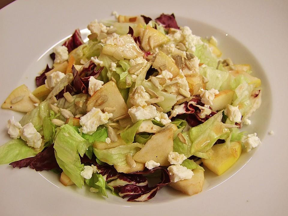 fruchtiger feta salat rezept mit bild von zimtschneckal. Black Bedroom Furniture Sets. Home Design Ideas