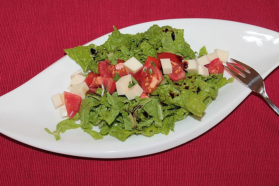 mangold salat mit tomate mozzarella rezept mit bild. Black Bedroom Furniture Sets. Home Design Ideas