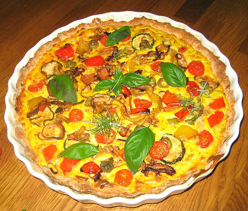 mediterraner gemüsekuchen rezepte | chefkoch.de - Rezepte Mediterrane Küche