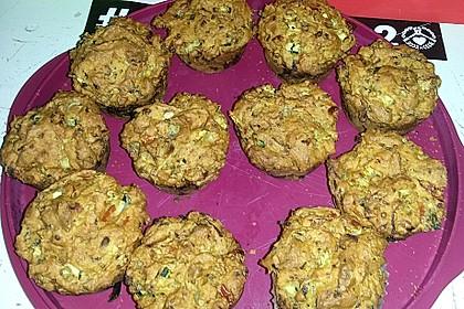 Pikante vegane Gemüse-Muffins 2