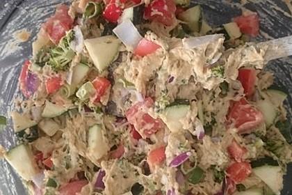 Pikante vegane Gemüse-Muffins 3
