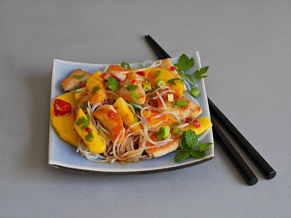 mango h hnchen salat rezept mit bild von ars vivendi. Black Bedroom Furniture Sets. Home Design Ideas