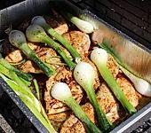 Chicken aus der Grillschale