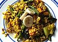Gebratener Sonnenschein-Reis