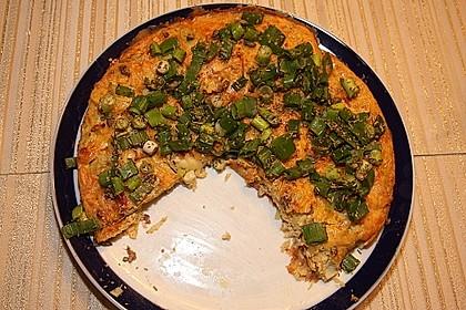 Im Ofen gebackene Frittata mit Kartoffeln und Artischocken 2
