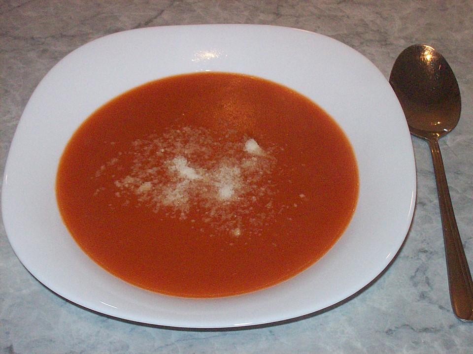 tomatensuppe aus tomatenmark rezept mit bild von missykocht. Black Bedroom Furniture Sets. Home Design Ideas