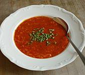 Tomatensuppe aus Tomatenmark