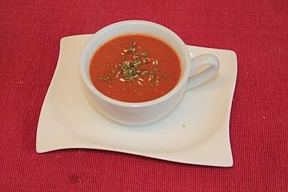 Tomatensuppe aus Tomatenmark 3