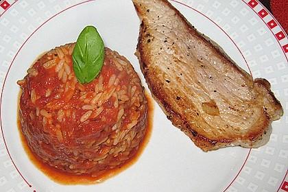 Griechischer Tomatenreis 6